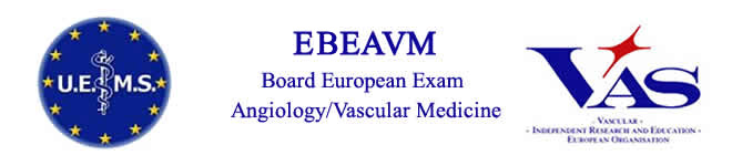 European Board Exam Angiology/Vascular Medicine