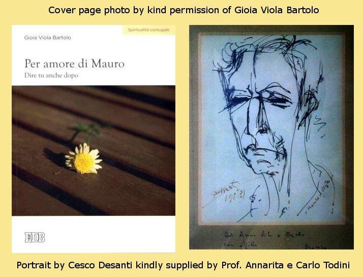 In memory of Prof Mauro Bartolo by Prof Annarita e Carlo Todini